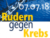 """Logo """"Rudern gegen Krebs"""" am 7. Juli 2018 in Kiel"""