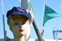 Mütze blau