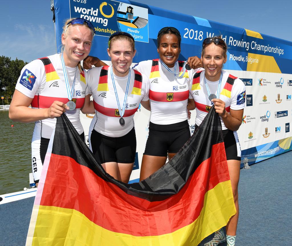 WM 2018: Silbermedaille für Frieda Hämmerling